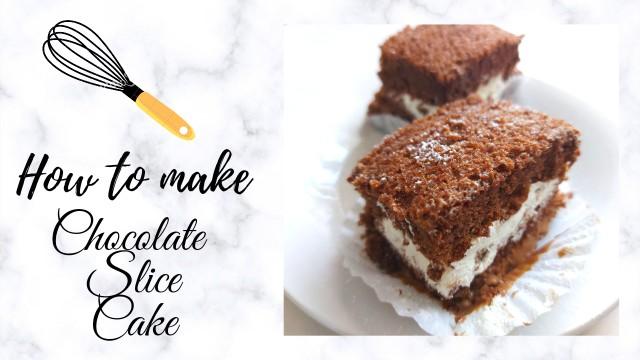 Whipped Cream Chocolate Cake Recipe