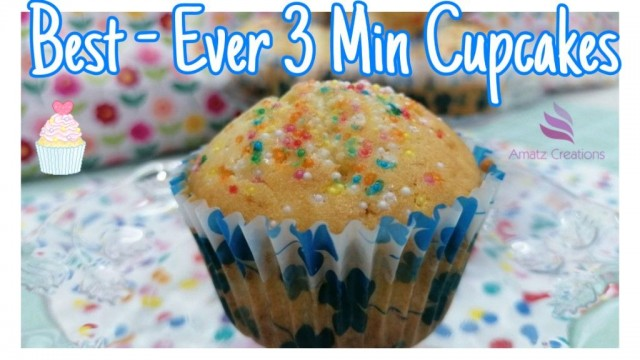 Best-ever 3 Minute Cupcakes