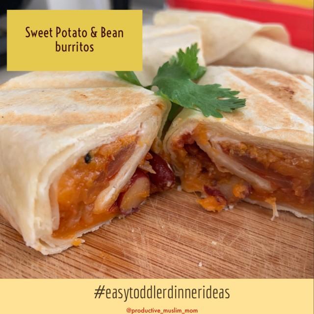 Sweet Potato & Bean Burritos