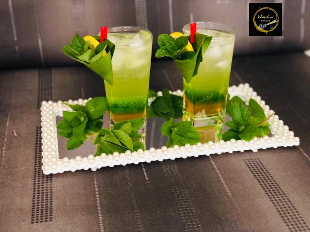 Ginger And Lemongrass Moctail