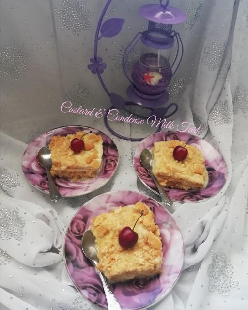 Custard & Condense Milk Tart