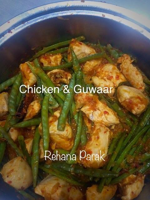 Chicken With Guwaar