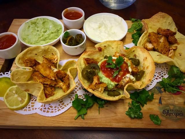 Mexican Chicken Burrito Bowls / My Recipe