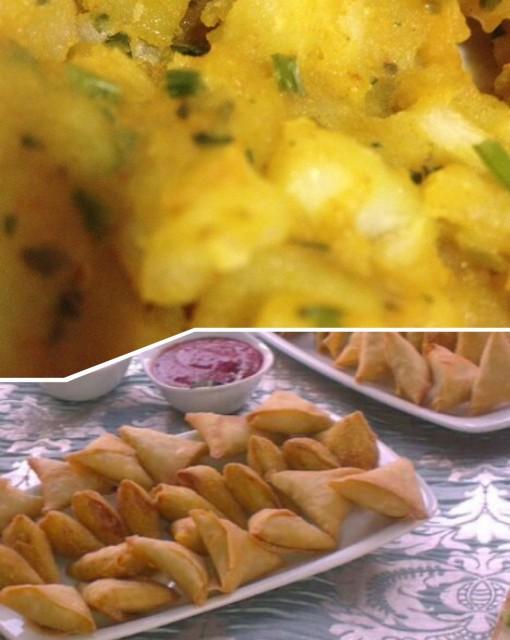Potato Samosas
