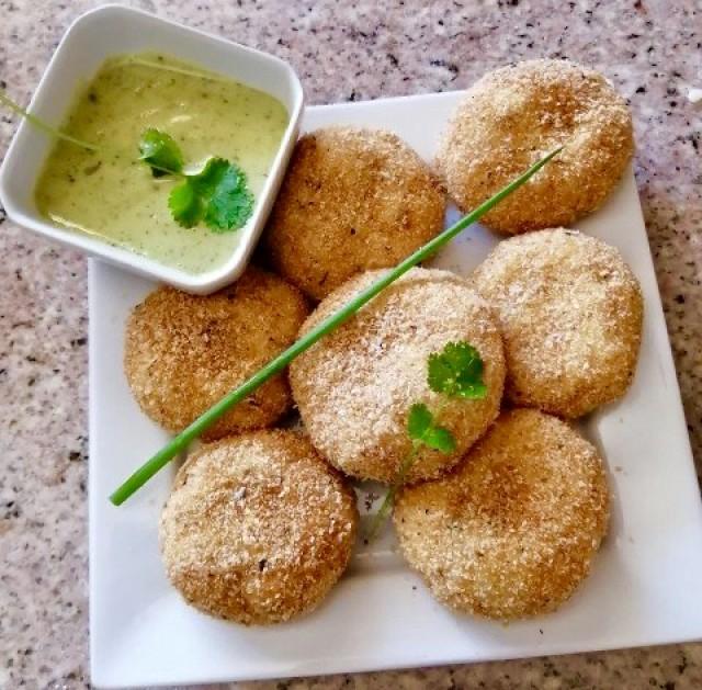 Potato Mince Balls / Aloo Puri