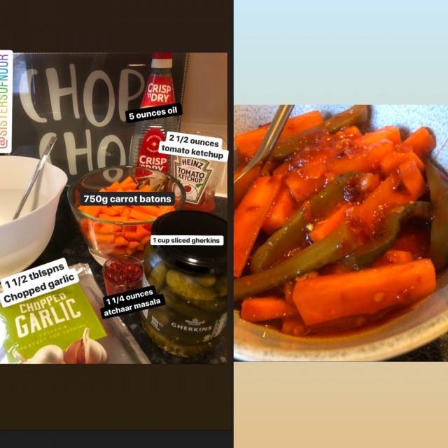 Easy Carrot Atchaar