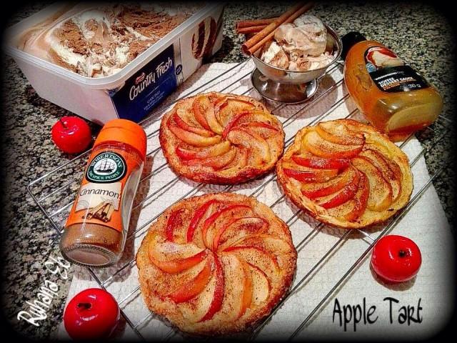 Spiral Apple Tarts
