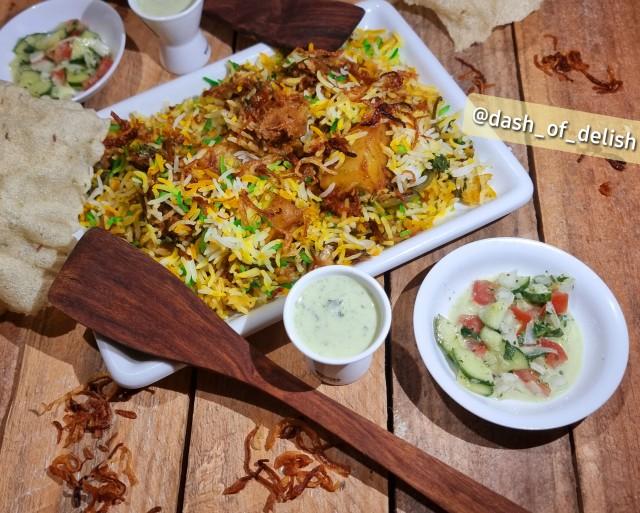 Beef Sindhi Biryani