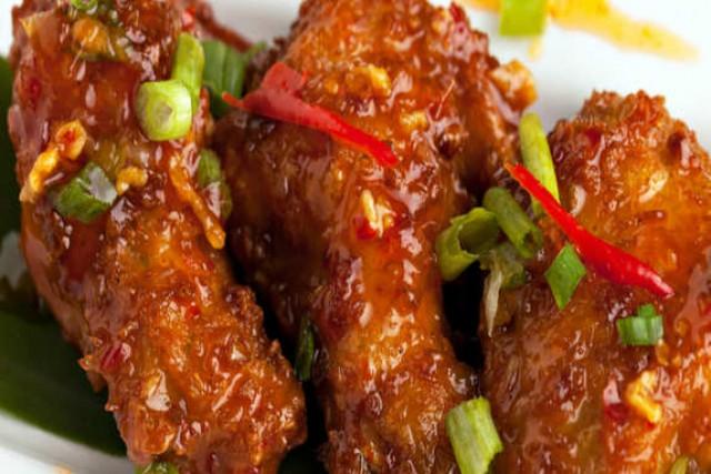 Manchurian Chicken Wings