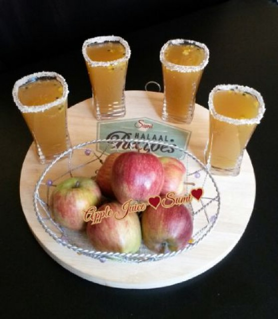 Home Made Apple Juice Recipe By Sumayah