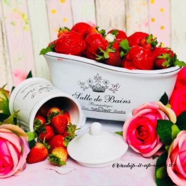 Raspberries And Strawberries Sorbet