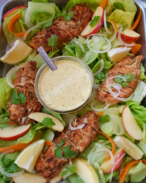 Lemon Grilled Chicken Salad