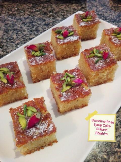 Turkish Semolina Cake