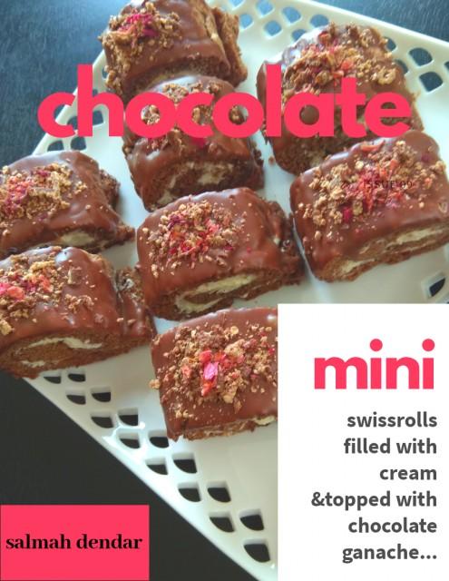Chocolate Mini Swiss Rolls
