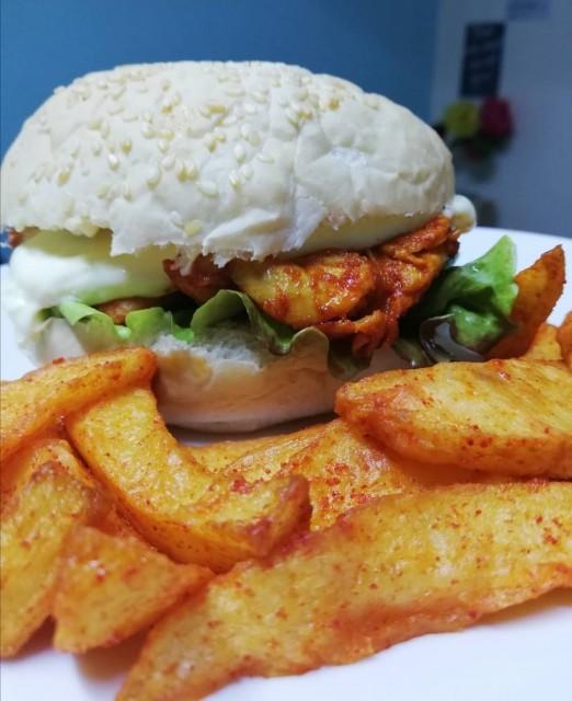 Easiest Chicken Fillet Burger  🍔