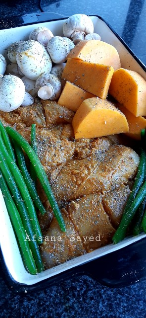 Grilled Chicken And Veg