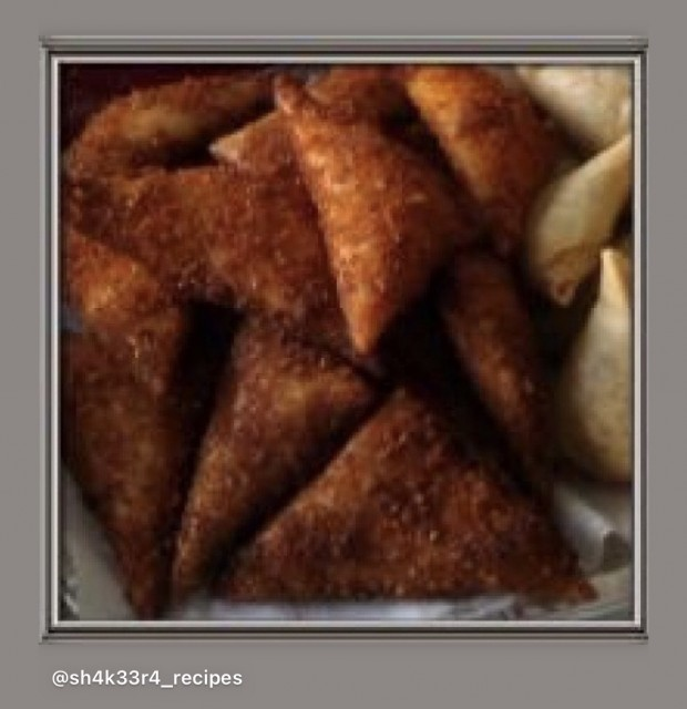 🌽🍗 🧀 Cheesy Chicken & Creamstyle Sweetcorn High Tech Samosa