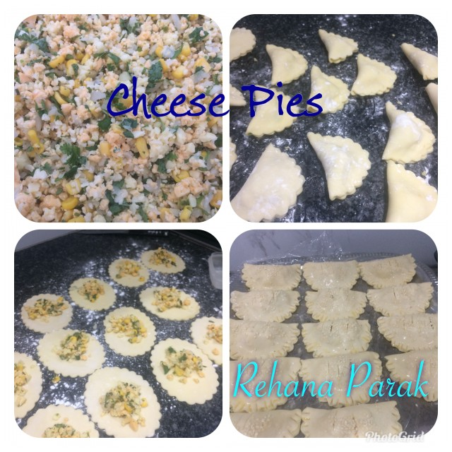 Cheese And Corn Pies