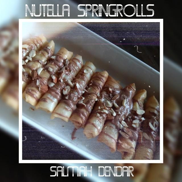 Nutella Springrolls