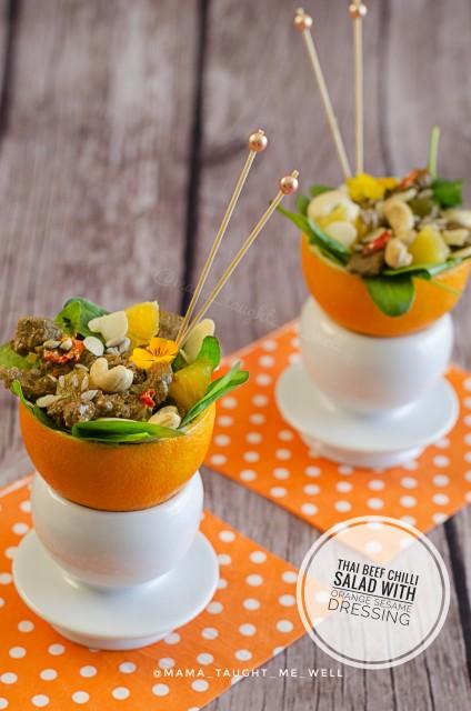 Thai Beef Chilli Salad