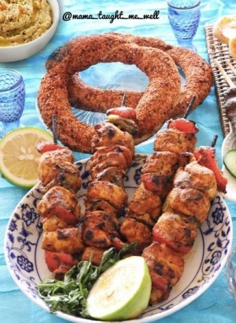 Turkish Chicken Shish Taouk