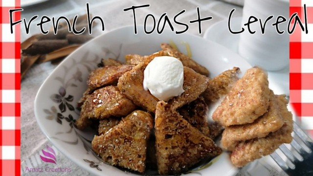 French Toast Cereal