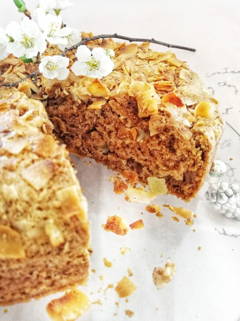 Apple And Coconut Crumble Cake  Recipe