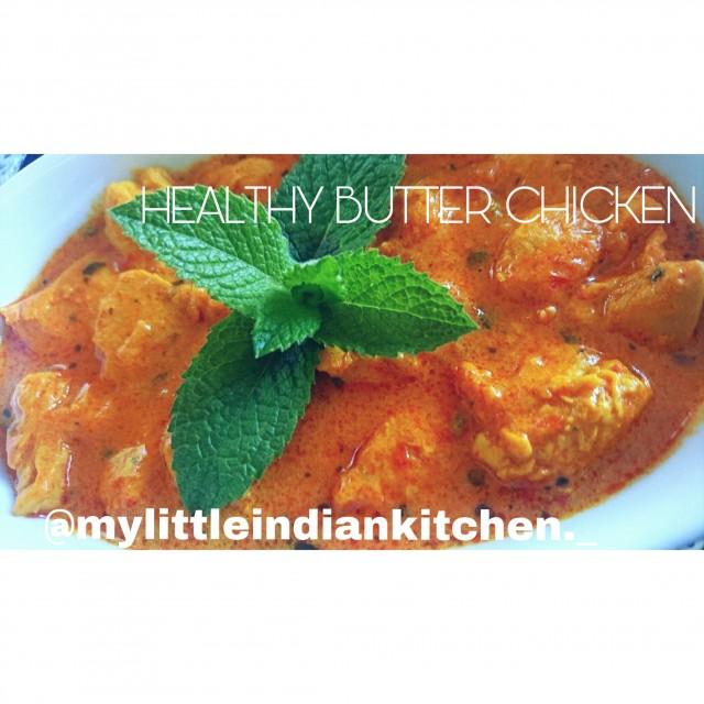 Healthy Butter Chicken