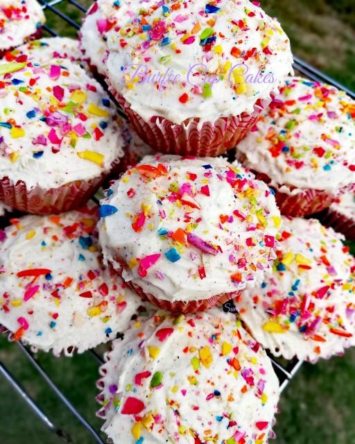 Burfee Cup Cakes