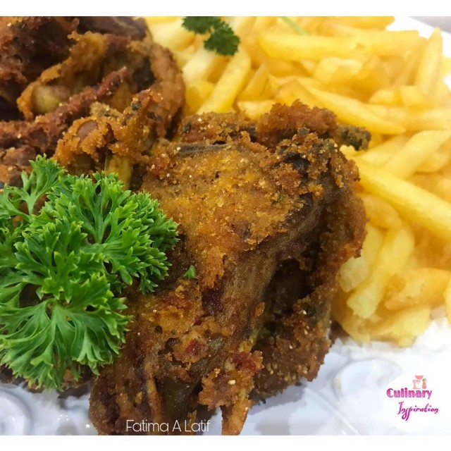 chops recipe halaal recipes Crumbed Chops