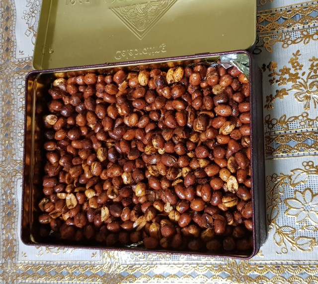 Easy Crunchy Masala Peanuts (addictive)