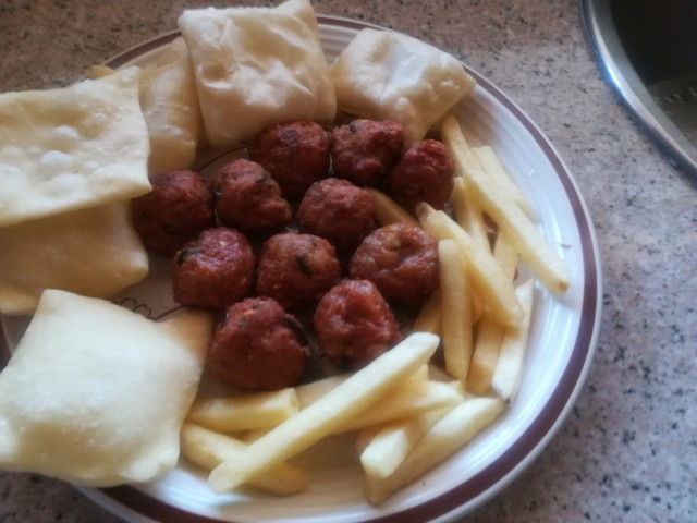 Kabaabs With Flour