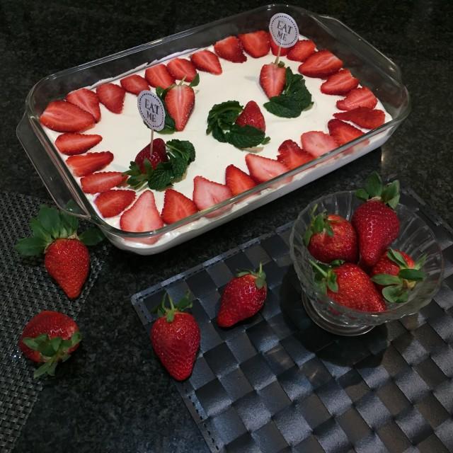 Strawberry Cheesecake 🍓
