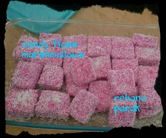 Candy Floss Marshmallows