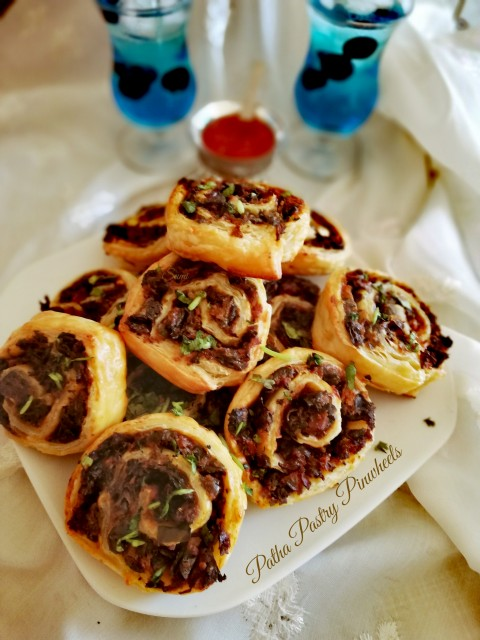 Patha Pastry Pinwheels