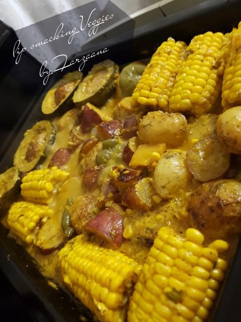 Spicy Vegetable Bake Bycreamy Spicy Veg Bake 📸📝:farzaana