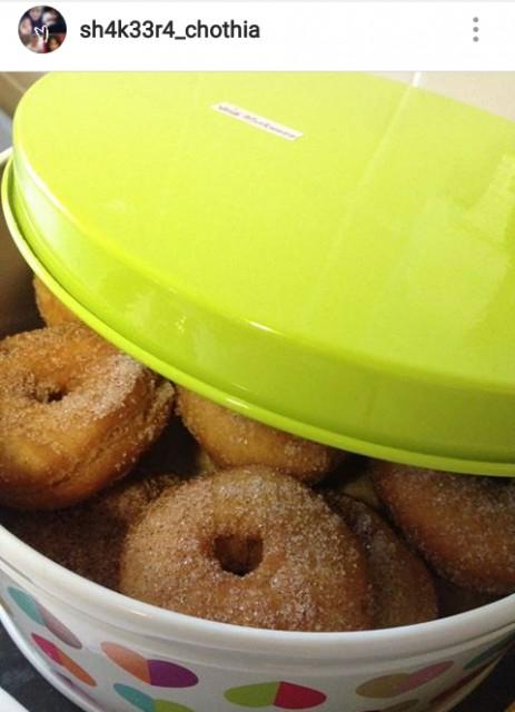 Mummys Easy Doughnuts