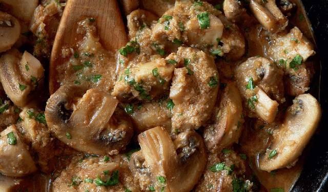 Braised Mushroom Curry