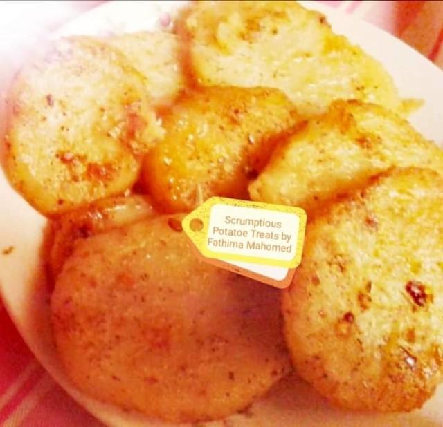 Potatoe Chilli Bite Treats