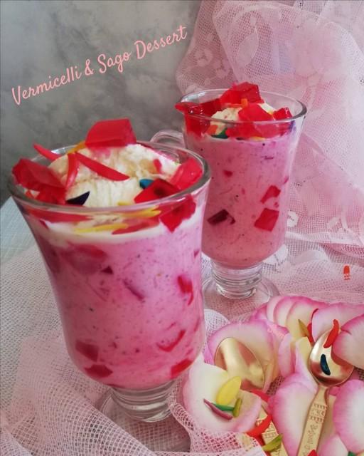 Vermicelli And Sago Dessert