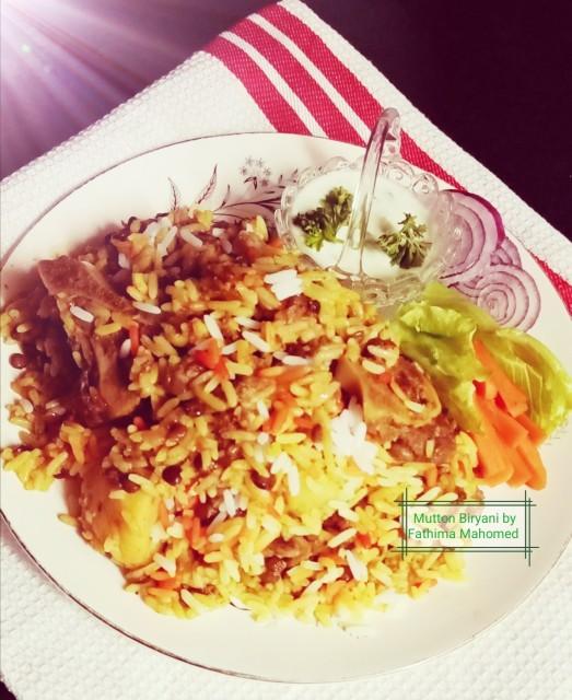 Mutton /lamb Biryani (masala Layered)