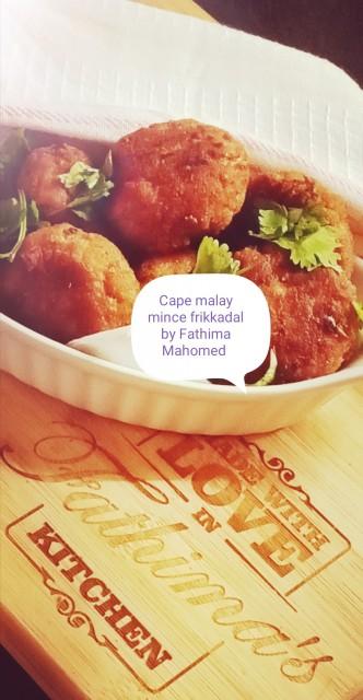 Cape Malay Mince Frikkadal