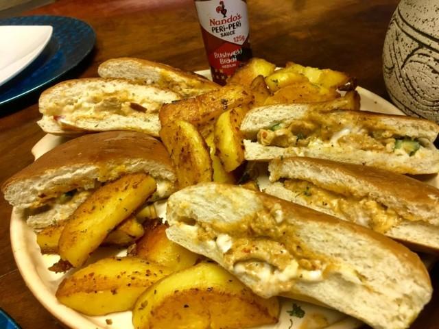 Nandos Style Chicken Pita