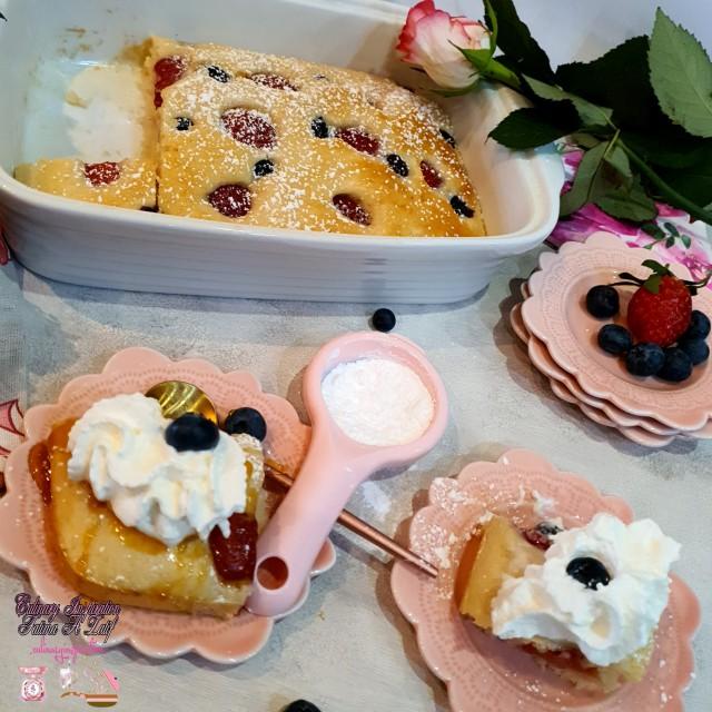 Pancake Tray Bake