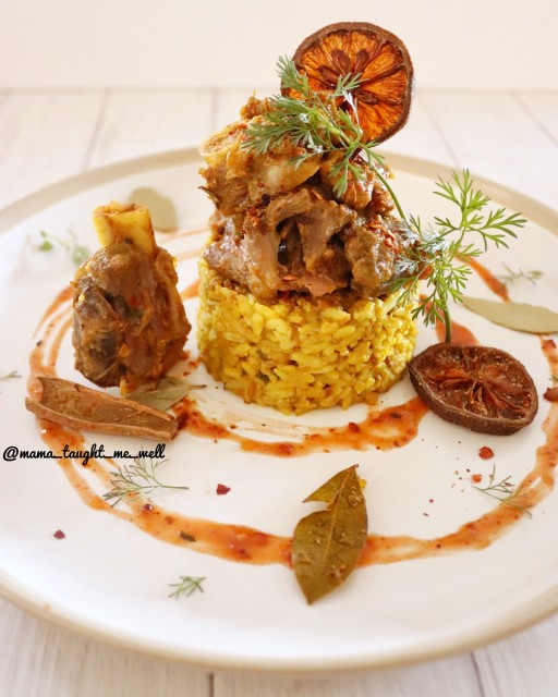 Arab Lamb Kabsa