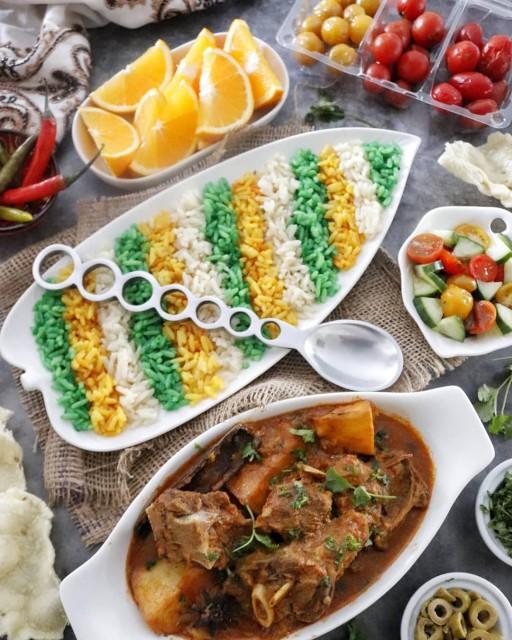 Tiranga Pulao (tricolor Rice)