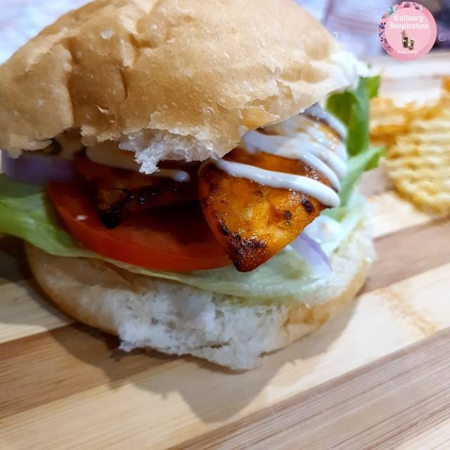 Nandos Style Chicken Burgers