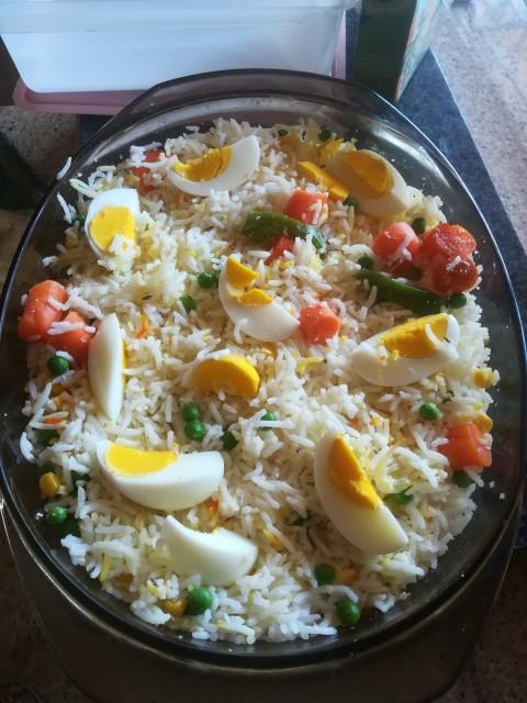 Chicken Plate Food
