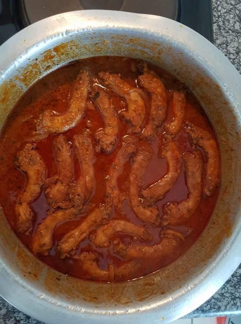 Chicken Necks Curry
