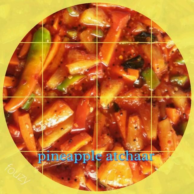 Pineapple Atchaar